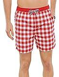 Schiesser Herren Badeshorts Swimshorts, Gr. Medium (Herstellergröße: 005), Rot (rot 500)