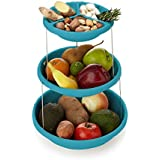 SIDDHI COLLECTION 3 TIER BPA FREE FOLDABLE PARTY BOWL'S HIGH QUALITY