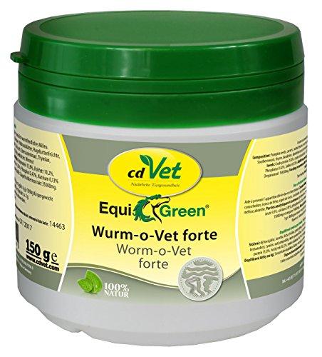 cdVet Naturprodukte EquiGreen Wurm-o-Vet forte 150g