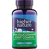 Higher Nature 1000mg MSM Joint Complex - Pack of 90 Tablets preisvergleich bei billige-tabletten.eu