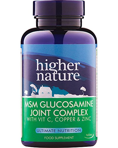 Higher Nature 1000mg MSM Joint Complex - Pack of 90 Tablets