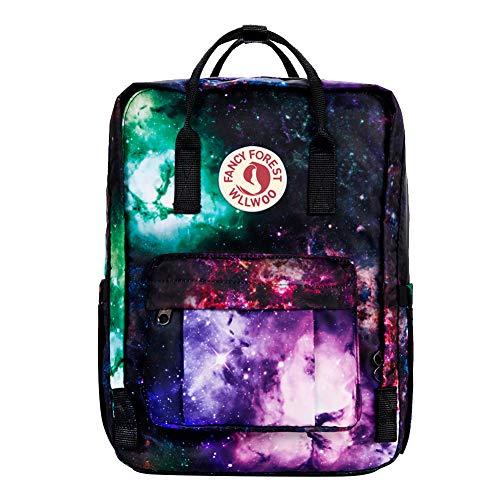 Kalidi Rucksack, leicht, Schultasche, Unisex, wasserabweisend, passend für 15 Zoll (38,1 cm) Laptop für Jungen, Mädchen, Männer und Frauen Galaxy2 38 x 29 x 13 cm /15 x 11 x 5 inch