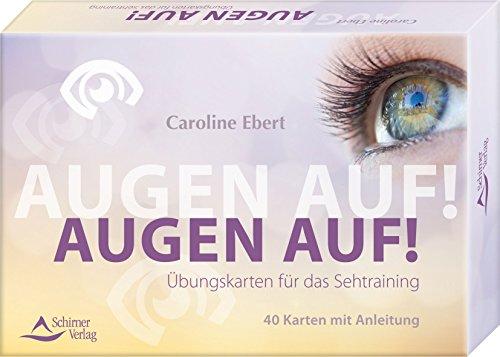 Preisvergleich Produktbild Kartenset: Augen auf!: Übungskarten für das Sehtraining - Kartenset, 40 Karten mit Anleitung