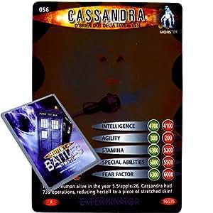 Doctor Who - Single Card : Exterminator 056 Lady Cassandra O'Brien Dot Delta Seventeen Dr Who Battles in Time Rare Card