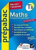 Prépabac maths terminale S enseignement obligatoire - Hatier - 18/07/2012
