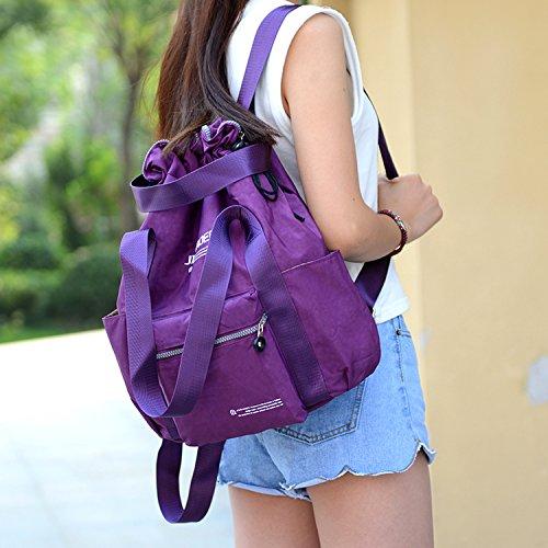 1bd6a04db511b ... Outreo Schulrucksack Leichter Rucksack Damen Umhängetasche Rucksäcke  Wasserdicht Tasche Schultaschen Schul Daypack Reisetasche Backpack für  Lässige ...
