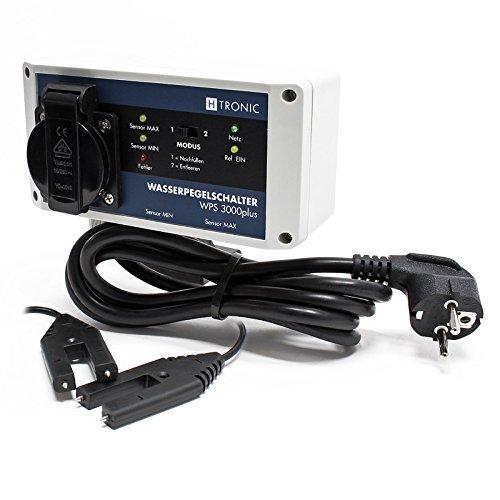 H-Tronic WPS 3000plus elektronischer Füllstands-Differenzschalter mit 2 Wassersensoren 3000W