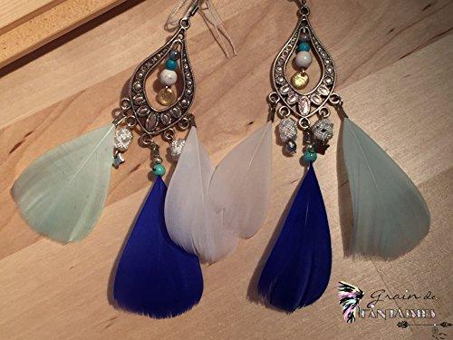 boucles-doreilles-orientales-losange-plumes-doies-bleues