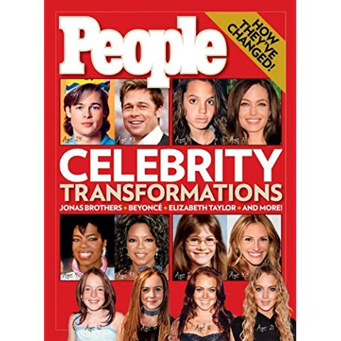 PEOPLE Celebrity Transformations by Editors of People Magazine (2009-04-21) - Celebrity Magazine