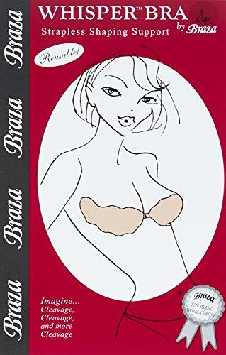 Braza Klebe (Braza Damen Klebe-BH Whisper Bra beige 65A, A)