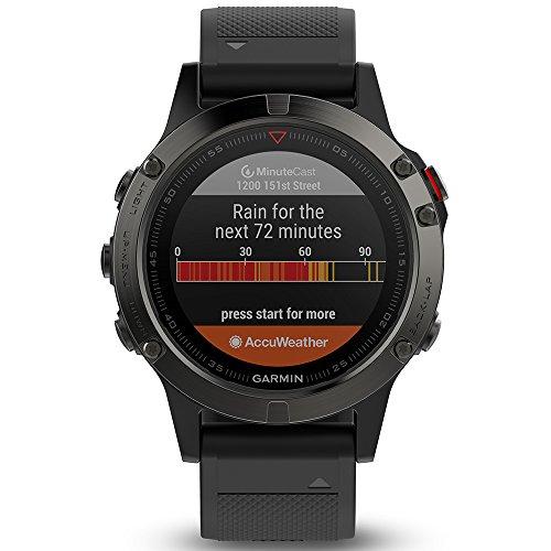Garmin Fenix 5 deporte GPS Reloj con al aire libre navegación y Ritmo Cardíaco