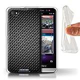 Stuff4® Gel TPU Hülle/Hülle für BlackBerry Z30 / Grau