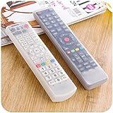 taottao TV Juego de control remoto impermeable polvo silicona protectora caso elegante, color A
