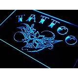 Enseigne Lumineuse m032-b Tattoo Flowers Neon Light Sign