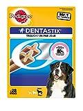 Pedigree Dentastix Hundeleckerli für große Hunde, 4 er Pack (4 x 28 Stück)