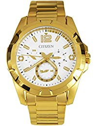 Citizen Analog White Dial Men's Watch-AG8332-56A