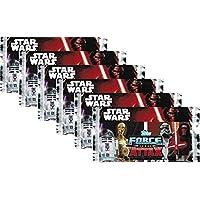 """Topps Star Wars Force Attax Movie Serie 7""""El despertar de la Fuerza"""" Colección de cartas–6 paquetes con por 10tarjetas por paquete, edición alemana"""