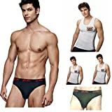 Euro & Lux Men's Cotton Brief with Combo...