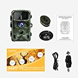 """Toguard Trail Camera 14MP 1080P Infrared Night Vision Game Camera Motion Activated Wildlife Hunting Cam 120° Detection with 0.3s Trigger Speed 2.4"""" LCD Display IP56 Waterproof Bild 6"""
