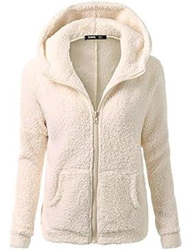 Donna Hooded Maglione Cotone Cappotto Inverno Caldo Lana Cerniera Cappotto Cotone Outwear Quattro Colori di Kangrunmy