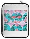 Two Pink Flamingo Pattern Laptop Case 13 14 15 14