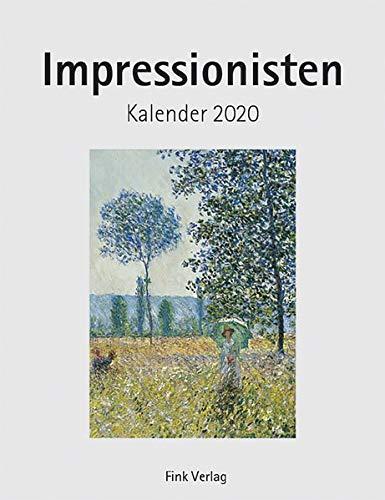 Impressionisten 2020: Kunst-Einsteckkalender