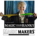 Magic Makers Color Changing Hanky - Easy Magic Trick with Silks