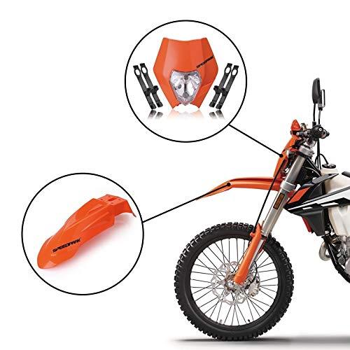 Angela Shops Motocross - Faros delanteros de 12 V para carenado de  locomotora y guardabarros delanteros, compatibles con Yamaha, repuesto para