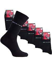 18er Pack Pierre Cardin Business-Socken PC8010 Pack Strümpfe, Farbe:PC8010 Schwarz;Größenauswahl:39 - 42
