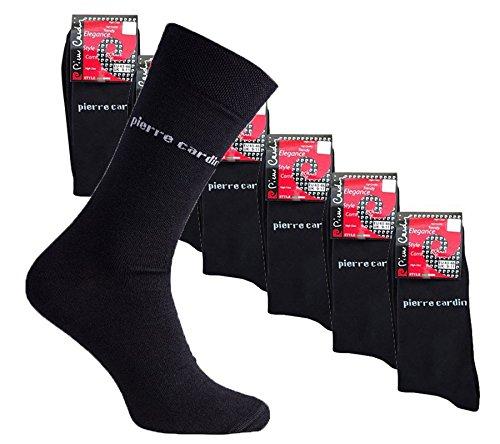 Preisvergleich Produktbild 18er Pack Pierre Cardin Business-Socken PC8010 Pack Strümpfe,  Farbe:PC8010 Schwarz;Größenauswahl:39 - 42
