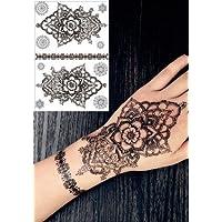 HENNE Tatuaggi Tatoo FLASH Temporanei Henné Nero