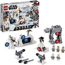 Lego Star Wars Action Battle Difesa della Echo Base, Gioco per Bambini, Multicolore, 382 x 262x 70.5 mm, 75241