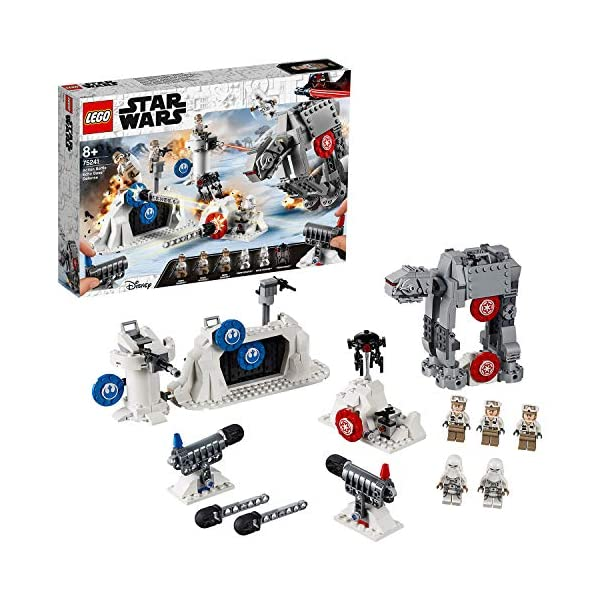 LEGO Star Wars Action Battle Difesa della Echo Base con 2 Snowtrooper e 3 Rebel Trooper, Set di Costruzioni per Ragazzi… 1 spesavip