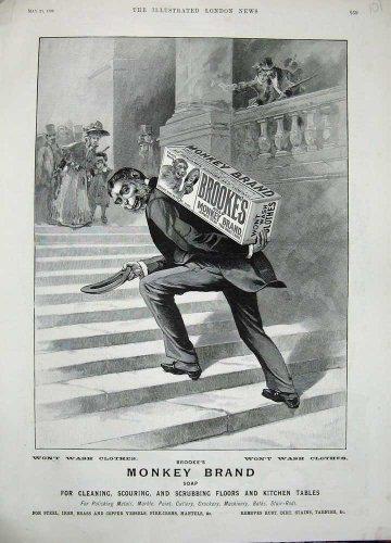 dcapant-1896-de-savon-de-brookes-de-marque-de-singe-de-publicit