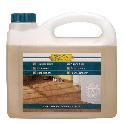 Woca Holzbodenseife Natur 2,5 Liter für natur geölte Holzböden