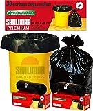 Shalimar Premium OXO - Biodegradable Garbage Bags (Medium) Size 48 cm x 56