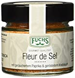 Fuchs Fleur de Sel mit geräuchtertem Paprika & geröstetem Knoblauch, 4er Pack (4 x 110 g)