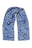 Drykorn Unisex Tuch Seiden-Tuch BRONSON, Farbe: Blau, Größe: One Size