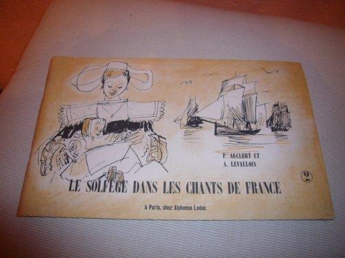 Le solfège dans les chants de France