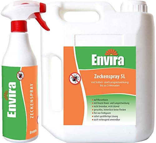 ENVIRA Zeckenschutzmittel 500ml + 5Ltr