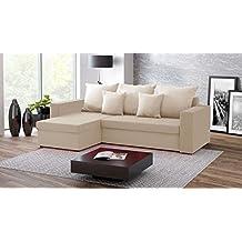 Amazon.it: divano letto angolare - Beige