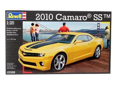 Revell Modellbausatz Auto 1:25 - 2010 Camaro SS im Maßstab 1:25, Level 4, originalgetreue Nachbildung mit vielen Details, 07088 von Revell