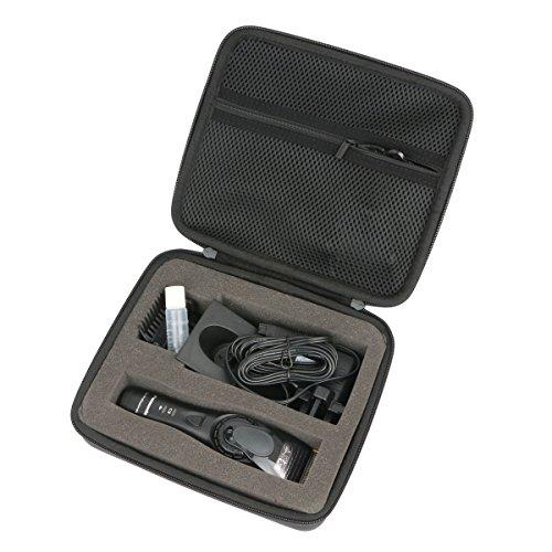 Khanka EVA Hart Fall Reise Tragen Tasche für Panasonic ER-GP80 / ER-DGP82 Profi-Haarschneidemaschine.