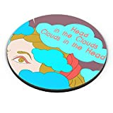 PosterGuy Fridge Magnet - Clouds In The Head   Designed by: Wish-Alley