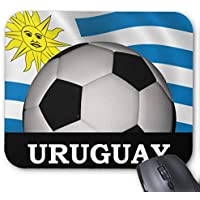 Computer Accessories Anti-Friction Wristband Football Uruguay Mouse Pad 18X22