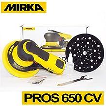 Lijadora Neumática Mirka PROS 650CV Ø 150mm Aspiración Central Órbita 5,0