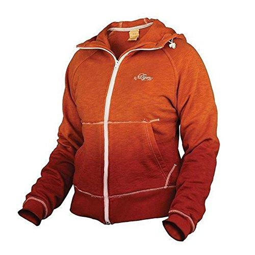 Dye Girls Hoody orange burnt, Gr.M (Hoody Orange Sweatshirt Burnt)