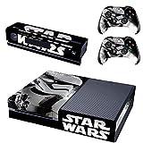Vanknight Vinyl-Aufkleber für Xbox One Konsole Kinect 2 Controller Star Wars Battlefront Stormtroopers