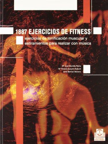MIL 887 EJERCICOS DE FITNESS. Ejercicios de tonificación muscular y estiramiento (Deportes) por Mª José Montilla Reina