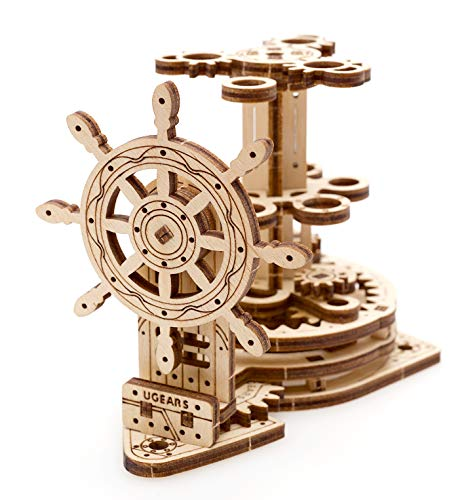 UGEARS Wheel Organizer Wooden Puzzles for Kids, DIY Kits for Teens, Educational Games and Educational Toys for Kids, DIY Projects and Educational Puzzles for Kids, Assembly Puzzle and STEM Learning